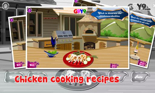 チキン料理ゲーム
