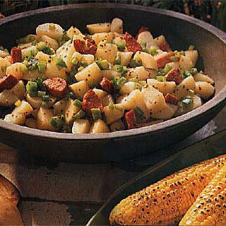 Cajun Potato Salad with Andouille Sausage.