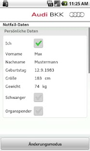 Audi BKK Notfall-Hilfe- screenshot thumbnail