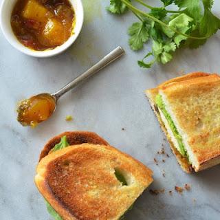 Curried Chicken & Avocado Sandwich.