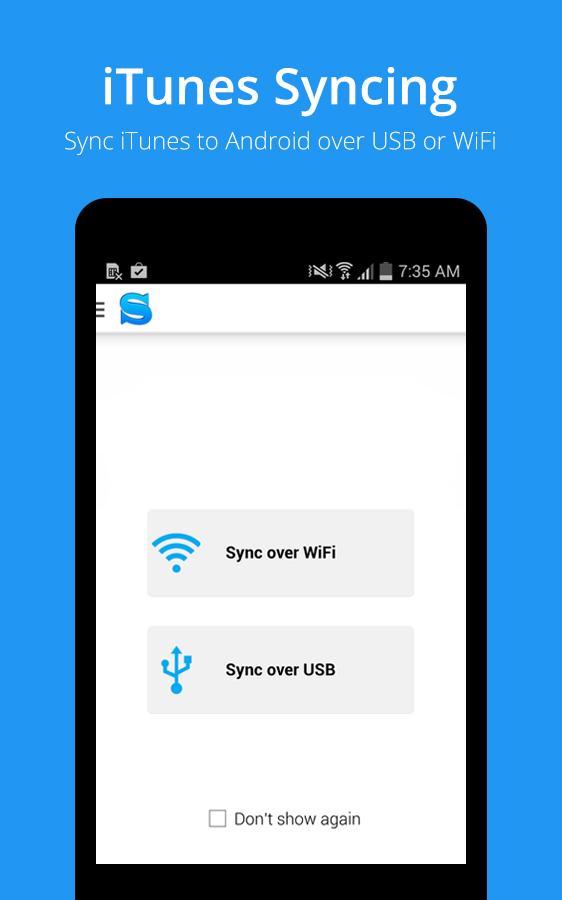 iSyncr : iTunes Sync (Pro) - screenshot