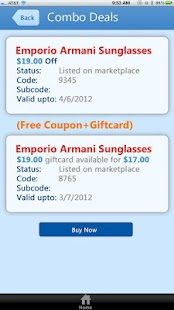 DealPiazza - Coupons giftcards - screenshot thumbnail