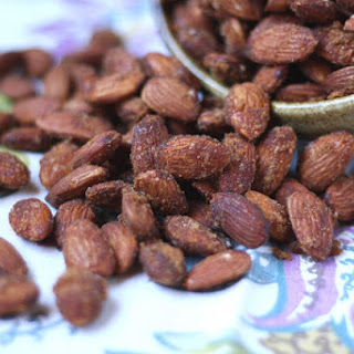Sweet and Spicy Almonds with Brown Sugar and Cayenne.