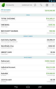 Mint.com Personal Finance - screenshot thumbnail