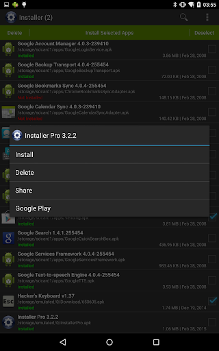 Installer - Install APK 3.4.2 screenshots 9