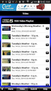 KRGVweather - screenshot thumbnail