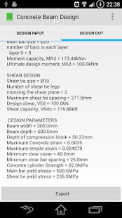 Concrete Beam Design - náhled