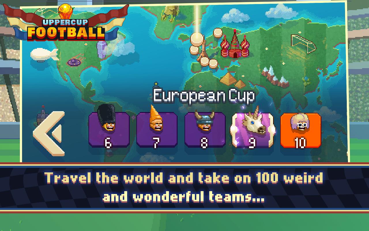 Uppercup Football (Soccer) screenshot #12