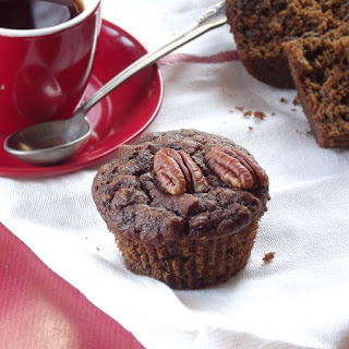 Banana Gingerbread Muffins.