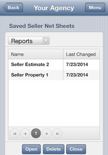 Stewart Agency Net Sheet
