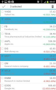 MyStocks Lite - screenshot thumbnail