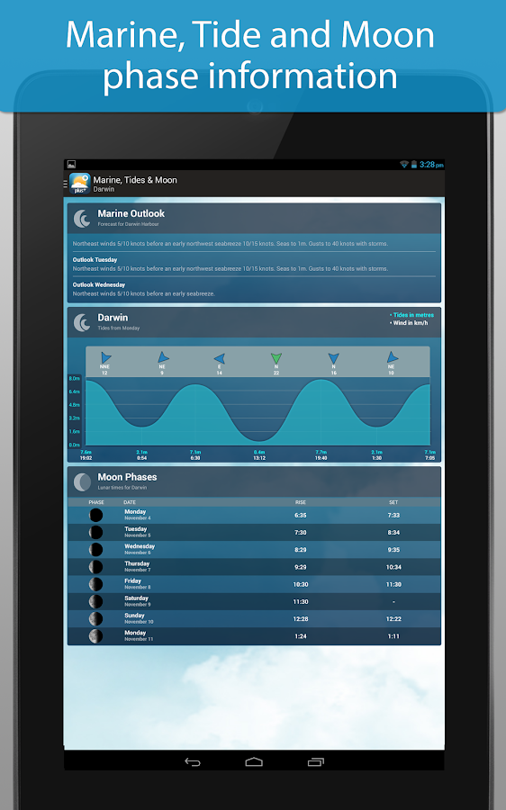 Weatherzone Plus- screenshot