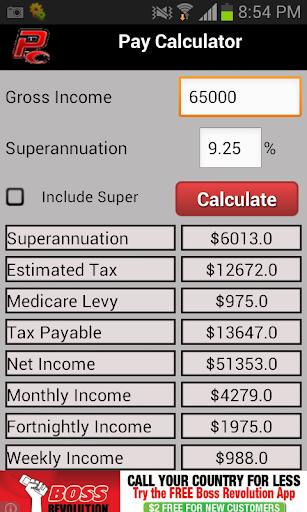 Pay Calculator