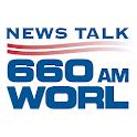 660 WORL logo