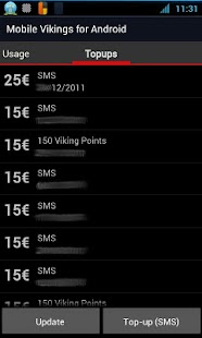 Mobile Vikings Android - Beta - screenshot thumbnail