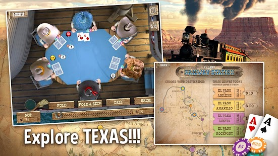 TEXAS HOLDEM POKER OFFLINE- gambar mini screenshot