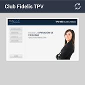 app TPV Web CLUB FIDELIS