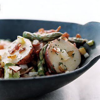 German-Style Potato and Ham Salad