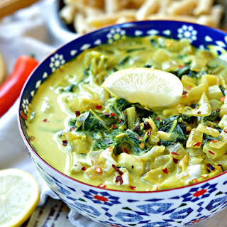 Bok Choy Curry Indian Style