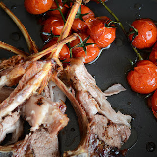 Red Wine Garlic Roast Lamb