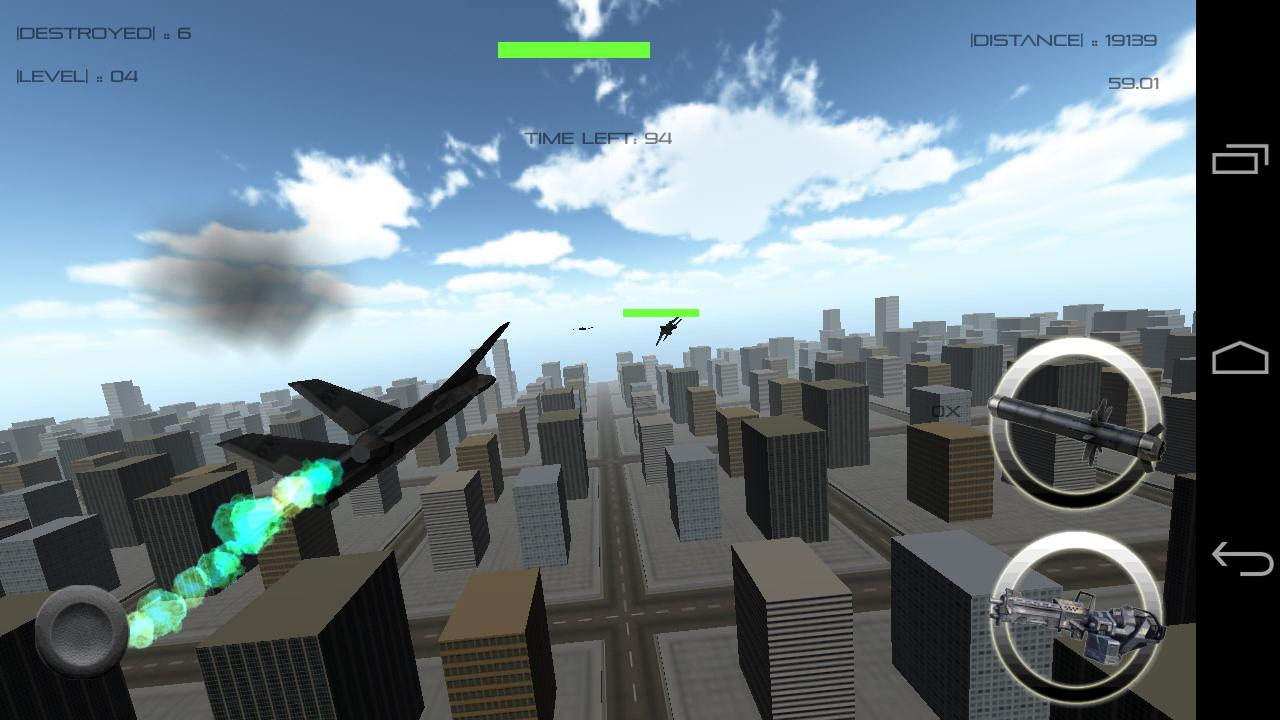 3D Jet Fighter : Dogfight - screenshot
