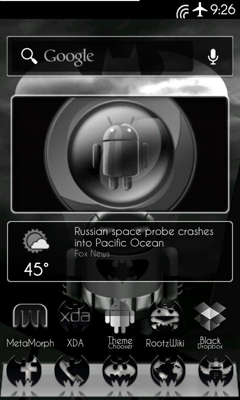 DarkGinger Theme CM7 (FREE) - screenshot