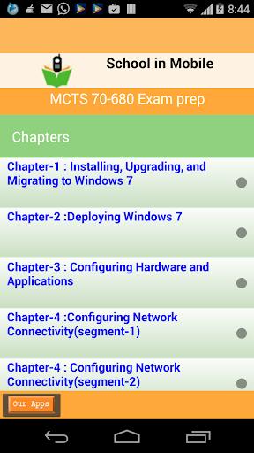 免費教育App|MCTS 70-680 kǎoshì zhǔnbèi|阿達玩APP