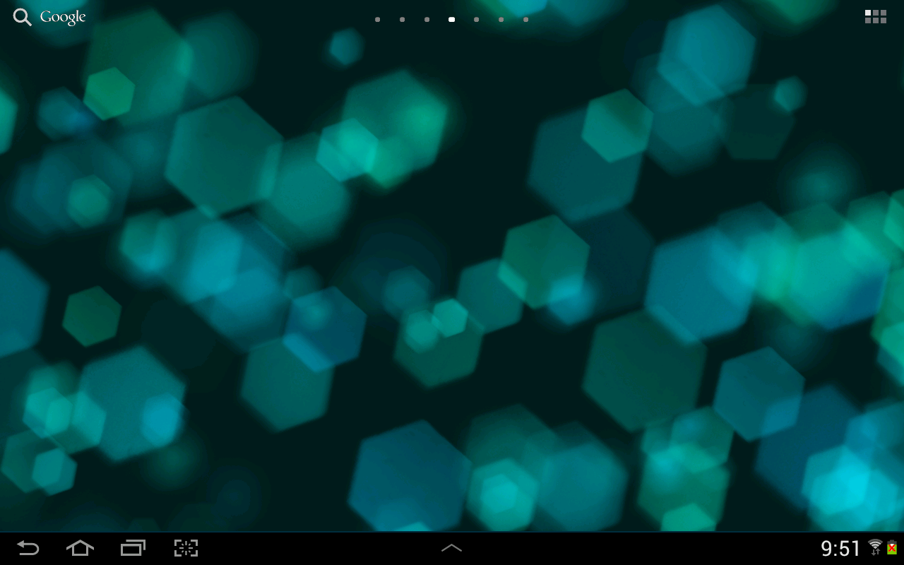 Light Drops Live Wallpaper - screenshot