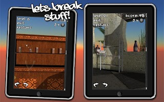 Screenshot of Let's Break Stuff! slingshot