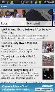 WJTV News Channel 12 - screenshot thumbnail