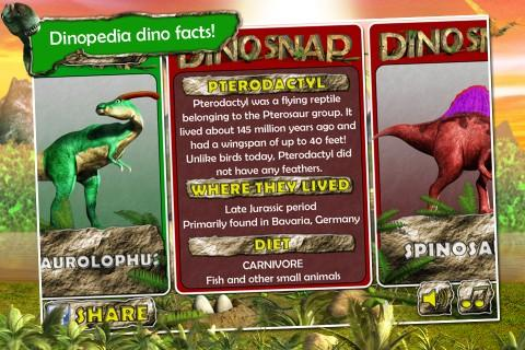 Dino Snap- screenshot