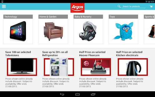 Argos - screenshot thumbnail