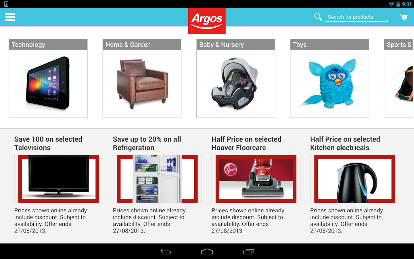 Argos - screenshot