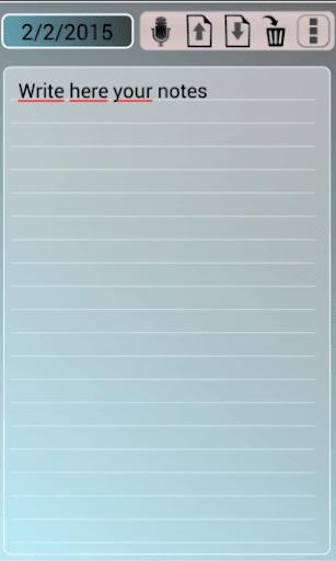 個人用予定表 Calendar Notes