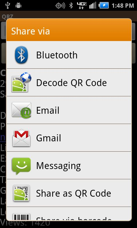 QRZDroid - screenshot