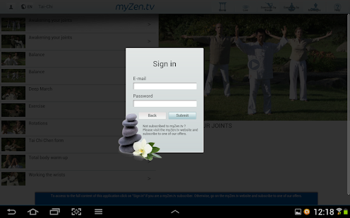 myZen.tv - Well-being partner- screenshot thumbnail
