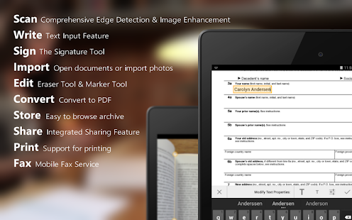 ScanWritr: docs scanner, PDF - screenshot thumbnail
