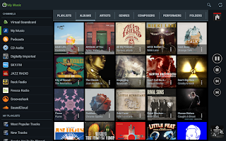 Screenshot of Jamcast - DLNA/UPnP/Sonos/Xbox