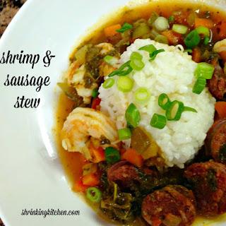 Shrimp and Sausage Stew.