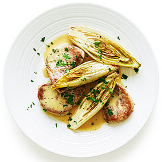 Pork Medallions with Belgian Endive