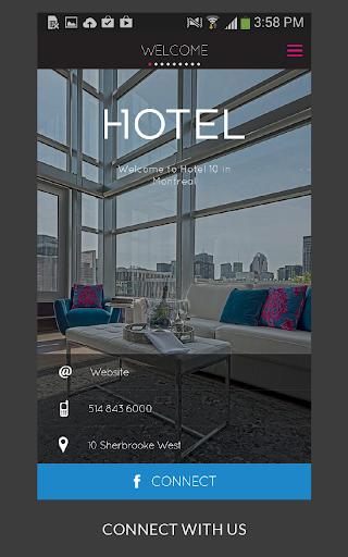 【免費旅遊App】Hotel 10-APP點子