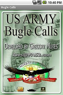 US Army Bugle Calls - screenshot thumbnail