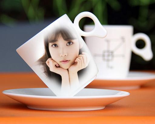 กรอบรูป แก้วกาแฟ แต่งรูปภาพ