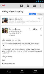 Gmail - screenshot thumbnail