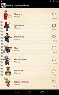 绘图Lego超级英雄