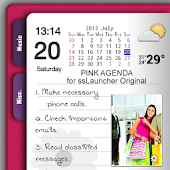 Pink Agenda for ssLauncher OR