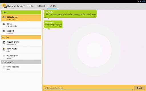 Bopup Messenger 1.5.0.181208 screenshots 10