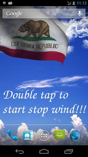 California Flag LWP Free