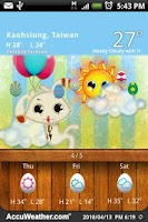 Screenshot of 9s-Weather Theme+ (Easter)
