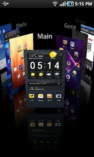 Regina 3D Launcher Pro - screenshot thumbnail